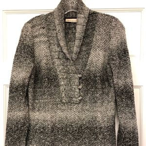 DKNY Shawl Collar Sweater